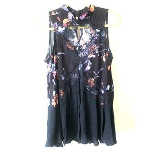 Small Daytrip cut-out floral blouse